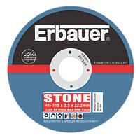 Erbauer Cutting Discs 115 x 2.5 x 22.23mm 5 Pack