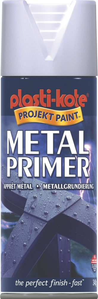 Plasti-Kote Metal Primer Grey 400ml