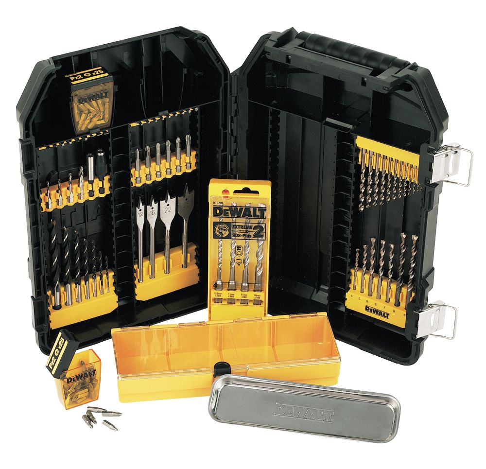 DeWalt Modular Accessory Set 104 Pc