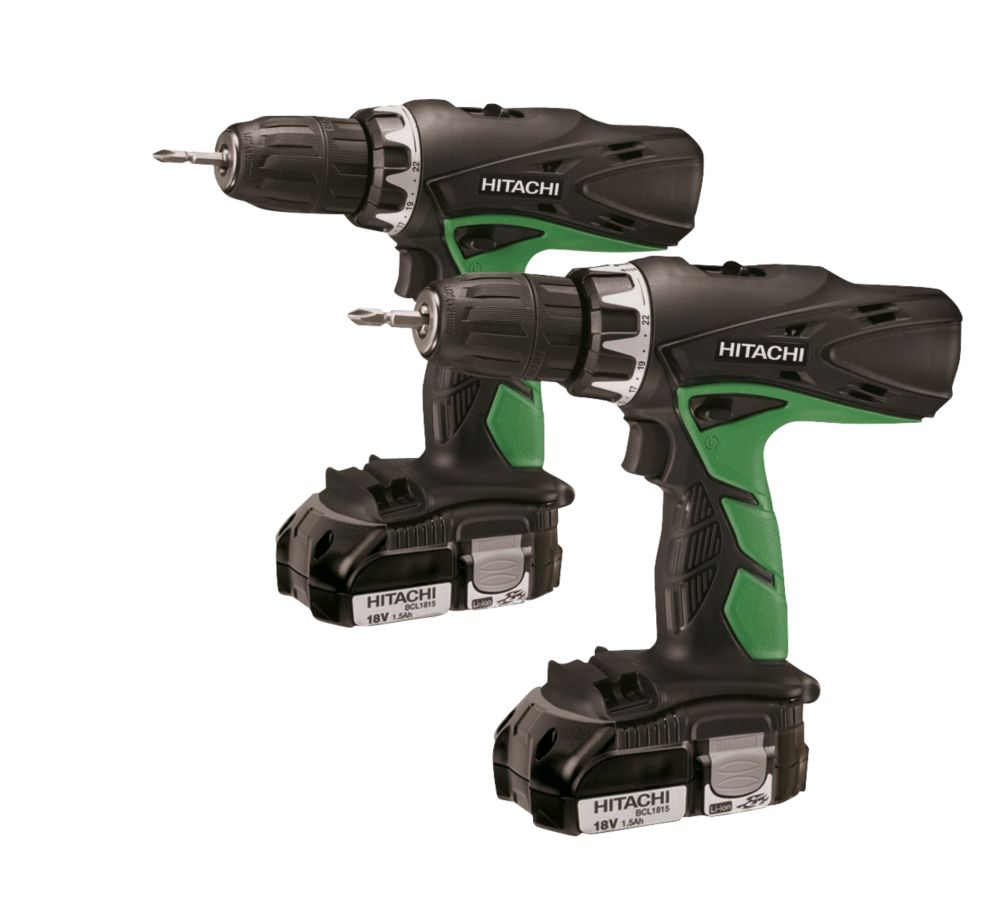 Hitachi DV18DCL2/DS18DCL 18V 1.5Ah Li-Ion Combi Drill & Drill Driver