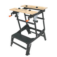 Forge Steel Multifunction Workbench