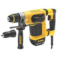 DeWalt D25414KT-LX 4kg SDS Plus Hammer Drill 110V