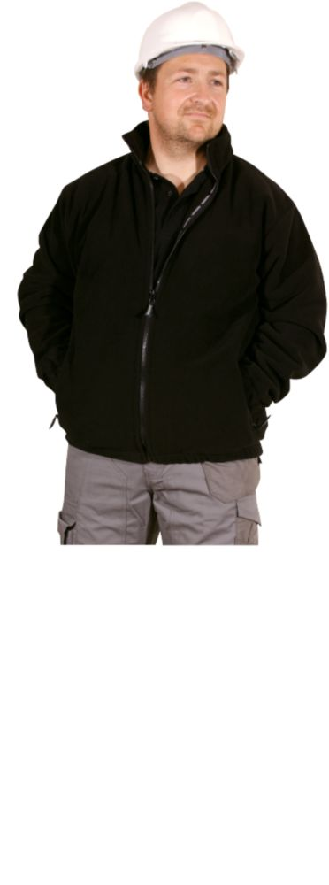 Erbauer Fleece Jacket Black Medium 38-40""
