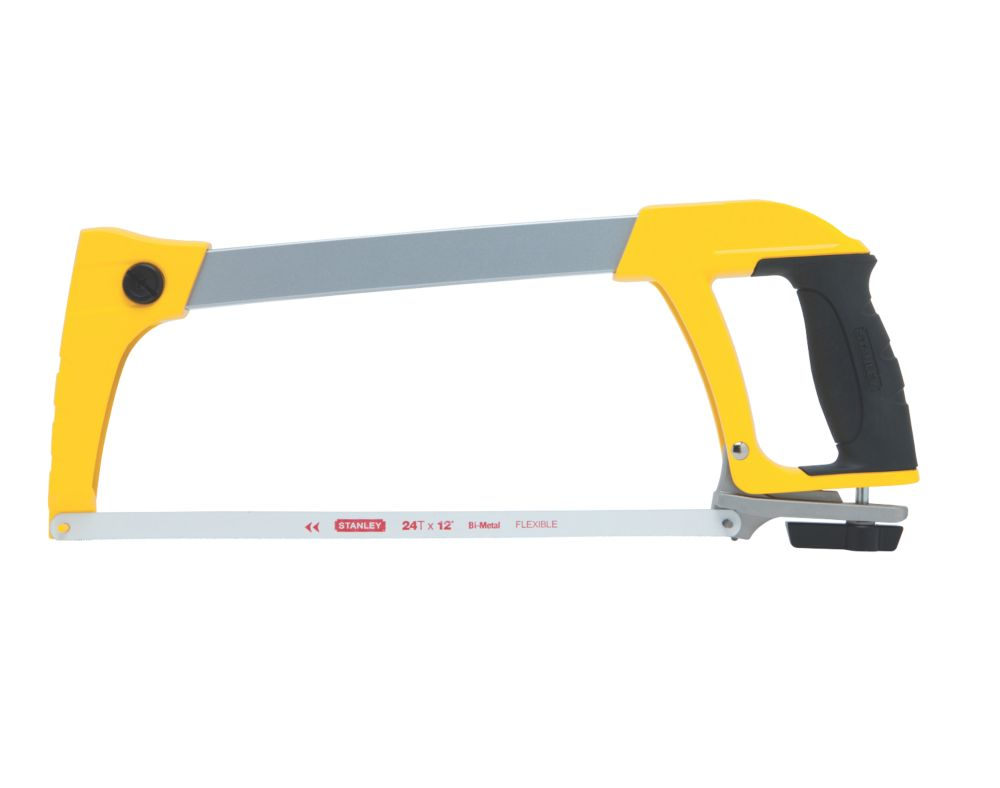 "Stanley Heavy Duty Hacksaw 24Tpi 12"" (305mm)"