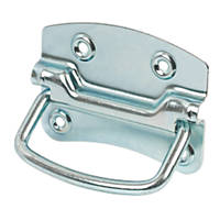 Chest Handles 105mm Zinc-Plated 2 Pack