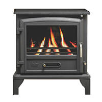 Valor Ridlington Black Solid Fuel Stove