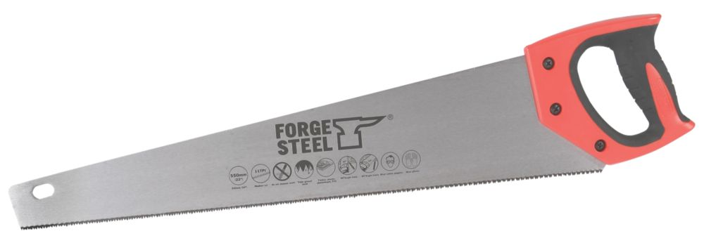 "Forge Steel Hard Point Handsaw 22"" 11tpi"