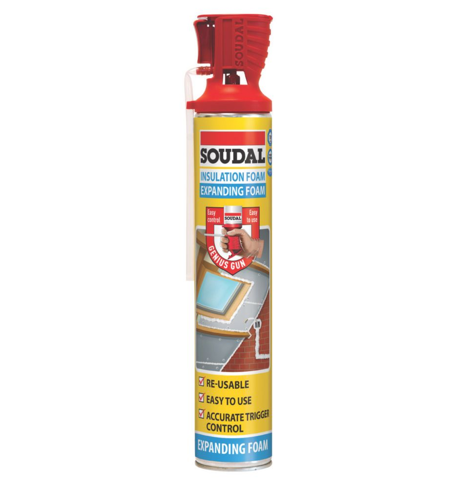 Soudal Genius Insulation Foam 750ml