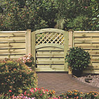 Grange Elite St Melior Gate 900 x 980mm Pressure-Treated Green