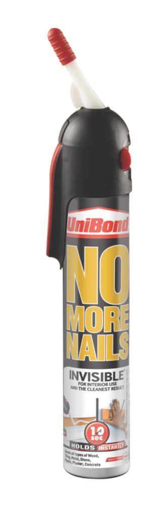 UniBond No More Nails Invisible Grab Adhesive