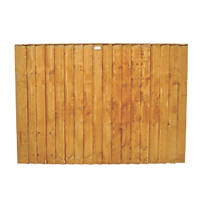 Forest Feather Edge Fence Panels 1.82 x 0.9m 8 Pack