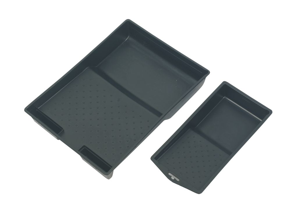 "Harris Paint Trays 9"" & 4"" Pack of 2"