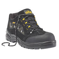 Site Granite Safety Trainers Black  Size 8