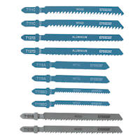 Erbauer Assorted Jigsaw Blades 10 Piece Set