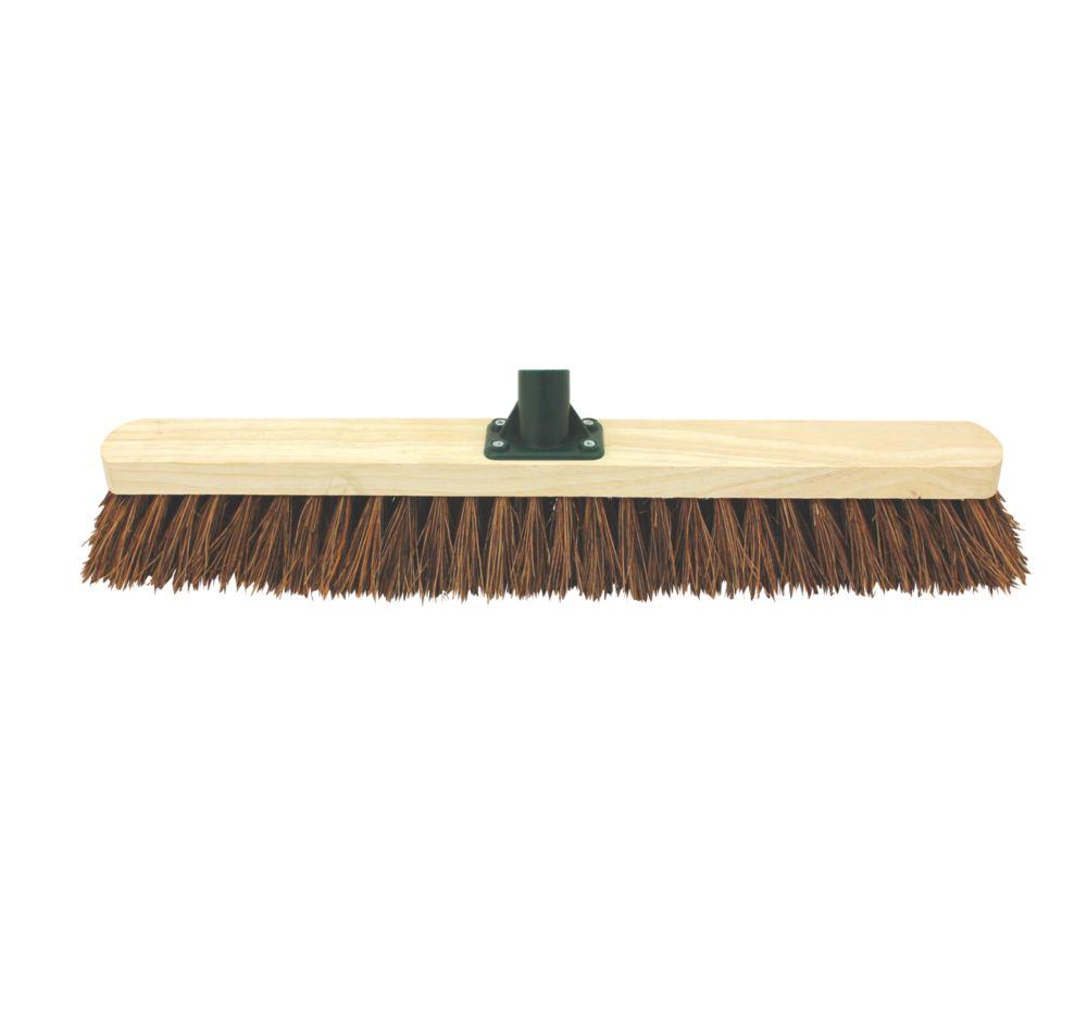 "Stiff Broom Head & Bracket 24"""