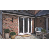 ATT  uPVC French Doors & Sidelight White 1790 x 2090mm