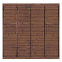 Grange Professional Lap Fence Panels 1.83 x 1.8m 4 Pack