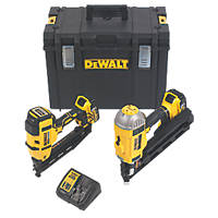 DeWalt DCK264P2-GB 18V 5.0Ah Li-Ion XR Brushless Cordless Nailer Twin Pack