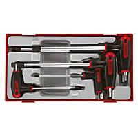 Teng Tools T-Handle Hex Key Set 7 Pieces