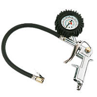 """Air Tyre Inflator with ¼"""" BSP Male Connector"""