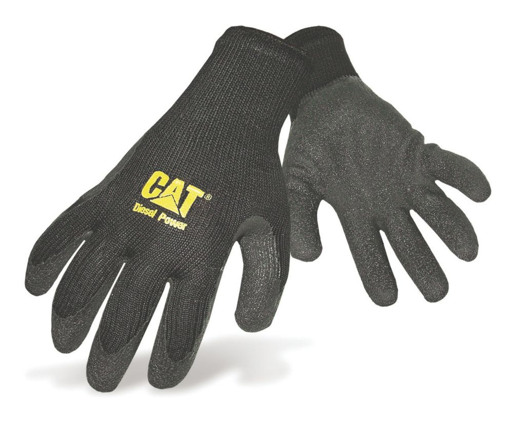 Caterpillar 17400 Latex Palm Gripster Gloves Large