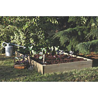 Forest Raised Bed Natural 0.9 x 1.8 x 0.14m