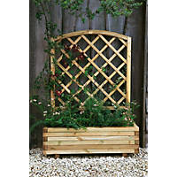 Forest  Toulouse Planter Natural 1000 x 400 x 1200mm