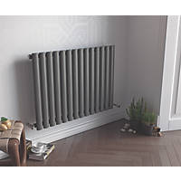 Ximax Fortuna Horizontal Single-Panel Designer Radiator Anthracite 600 x 826mm