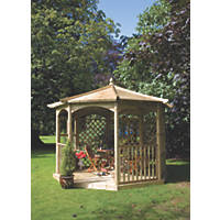 Grange Regis Dressed Gazebo Kit A 3.41 x 3.41 x 3.2m