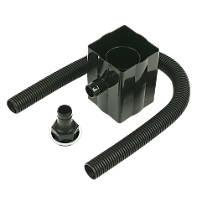 FloPlast  Rainwater Diverter 70mm Black