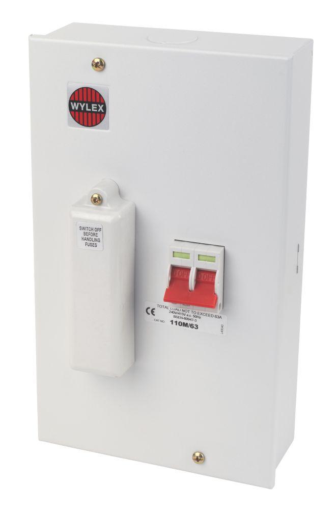 Wylex 63A Switchfuse 100A CF