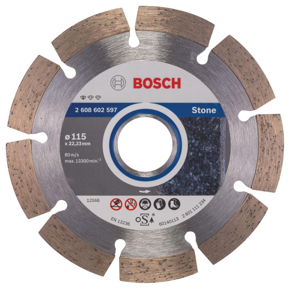 Bosch Stone & Concrete Diamond Blade 115 x 22.23mm