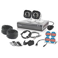 Swann SWDVK-4720P2-UK 4-Channel Security System & 2 Cameras