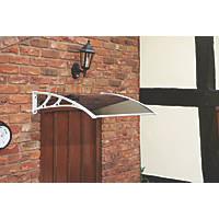 Greenhurst Easy Fit Door Canopy White 1000 x 600 x 230mm