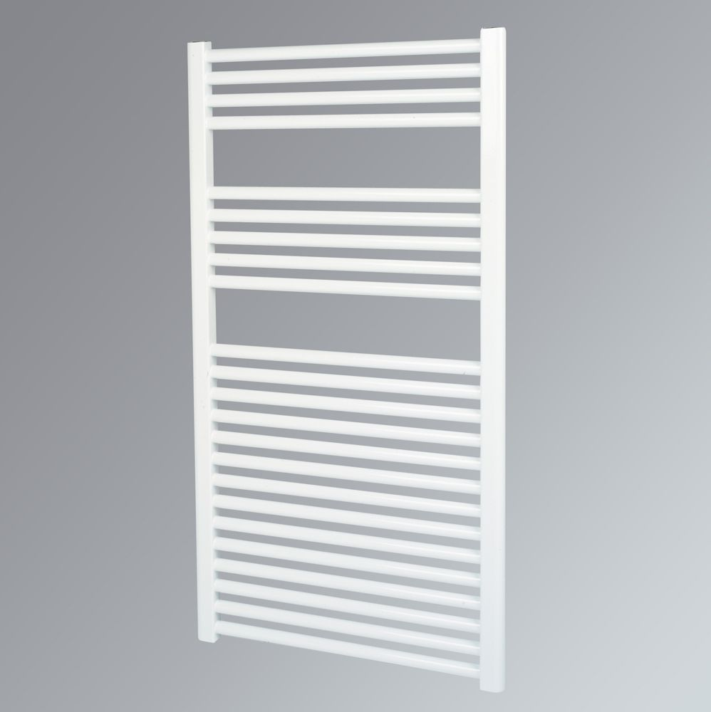 Kudox Flat Towel Radiator White 1100 x 600mm 619W 2112Btu