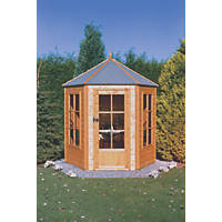 Gazebo Summerhouse Assembly Included 2.1 x 1.8m