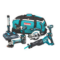 Makita DLX6044PT 18V 5.0Ah Li-Ion LXT Cordless 6-Piece Power Tool Kit
