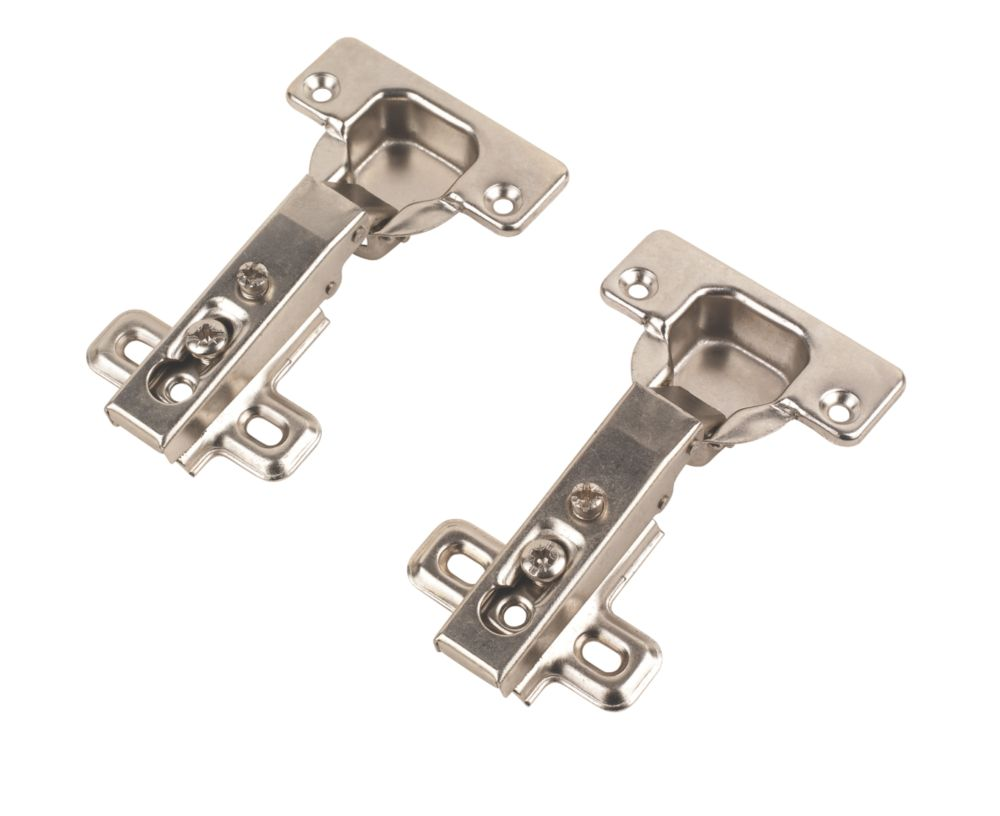 Sprung Screw-On Hinges 35mm 110° Pack of 2