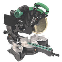 Hitachi C12RSH/J1 305mm Double Bevel Sliding Compound Mitre Saw 230V