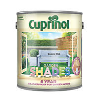 Cuprinol Garden Shades Wood Paint Coastal Mist 2.5Ltr