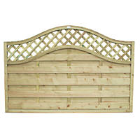 Forest Prague Fence Panels 1.82 x 1.2m 3 Pack