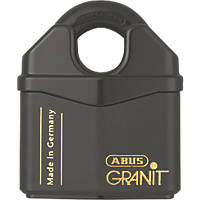 Abus Granit High Security Closed Shackle Padlock Max. Shackle W x H: 22 x 22mm