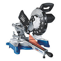 Scheppach HM100LXU 254mm Sliding Compound Mitre Saw 230V