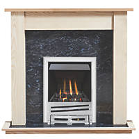 Focal Point Horizon Gas Inset Suite Ash Veneer