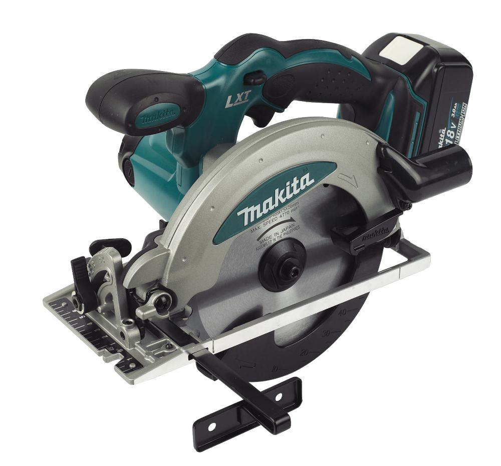 Makita BSS610RFE 165mm 3Ah Li-Ion Cordless Circular Saw 18V