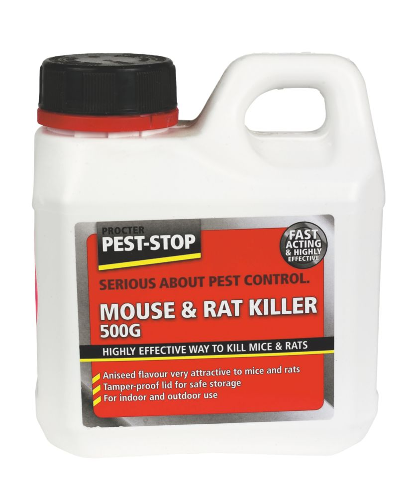 Procter Mouse & Rat Killer 500g
