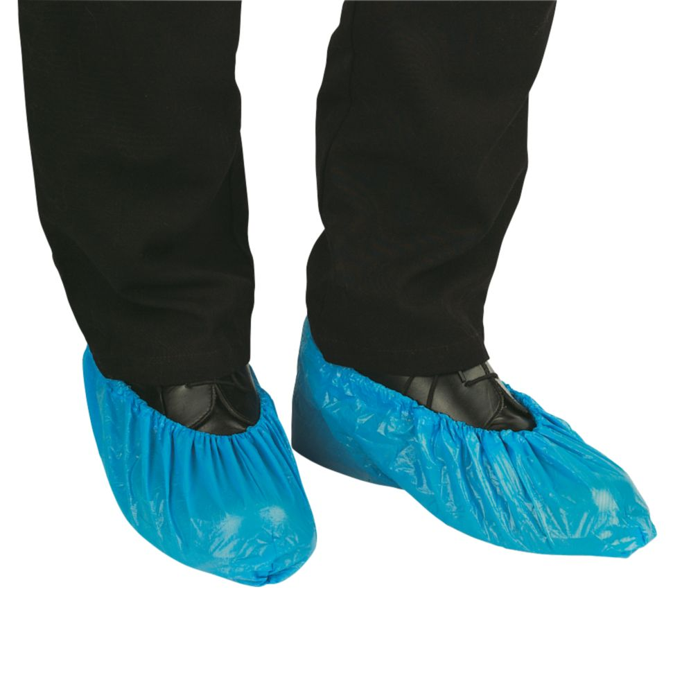 Cater Safe Disposable Over-Shoes Blue Pack of 100