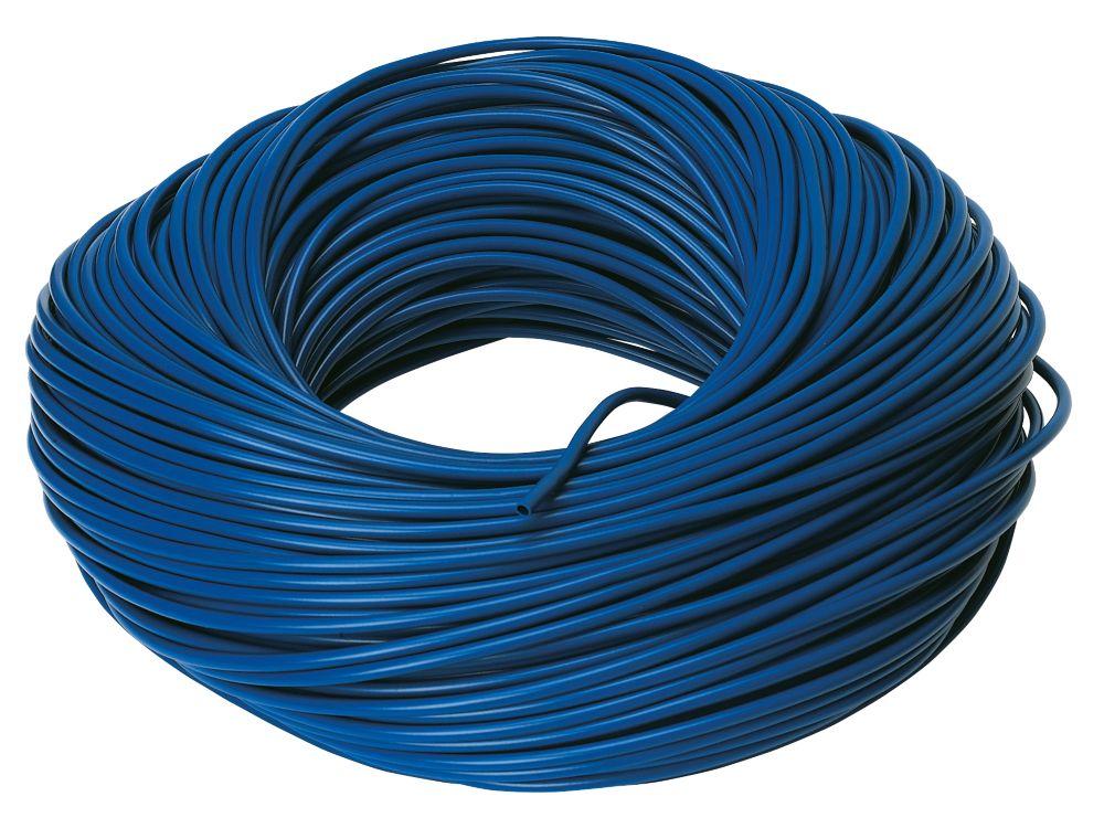 PVC Sleeving 3mm x 100m Blue