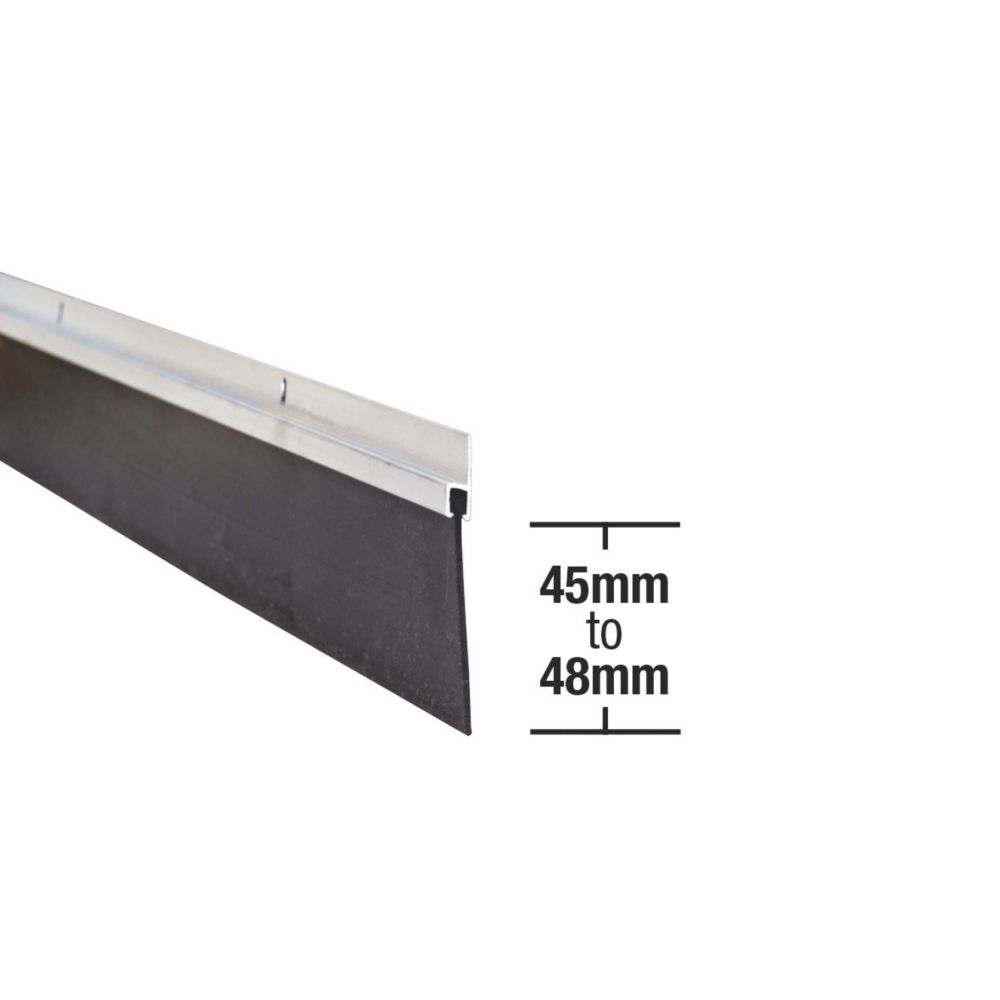 Garage Seal 2500mm Aluminium