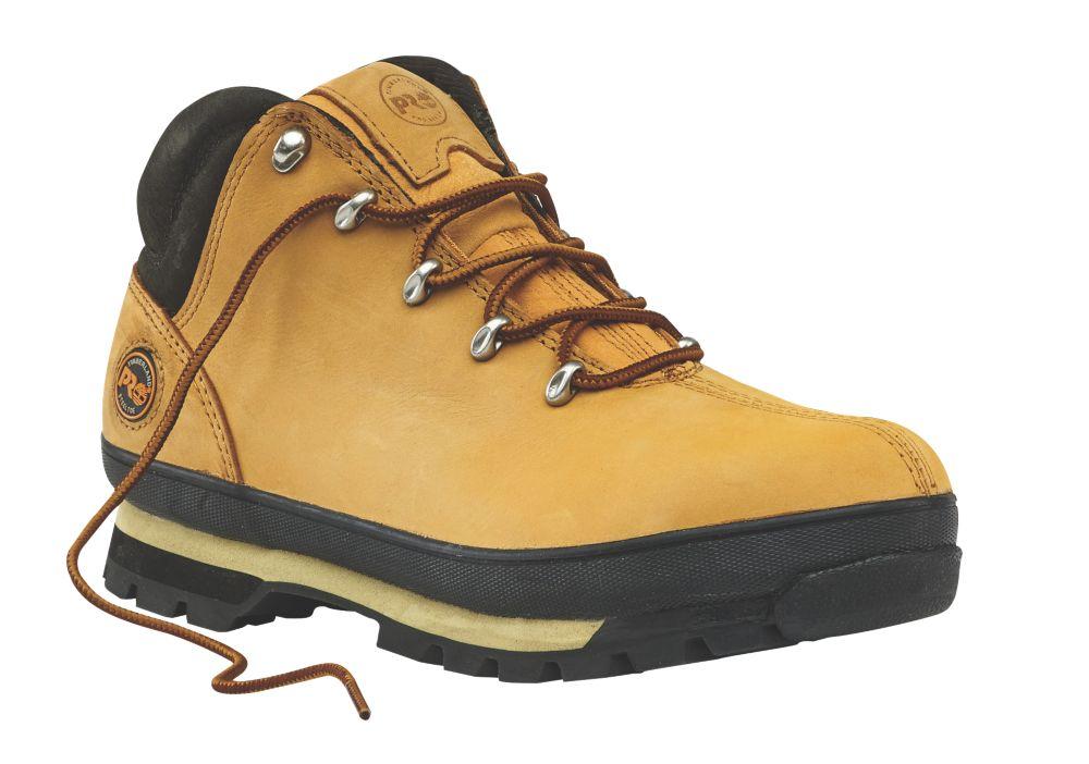Timberland Splitrock Pro Safety Boots Wheat Size 7